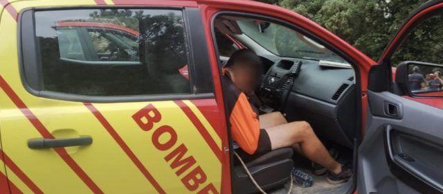 Rescatado un hombre lesionado en la Pobla de Benifassà