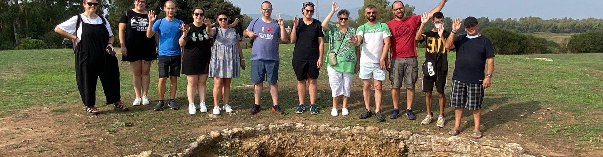 Fotos: Visita turística dels nanos i gegants a l'Alguer