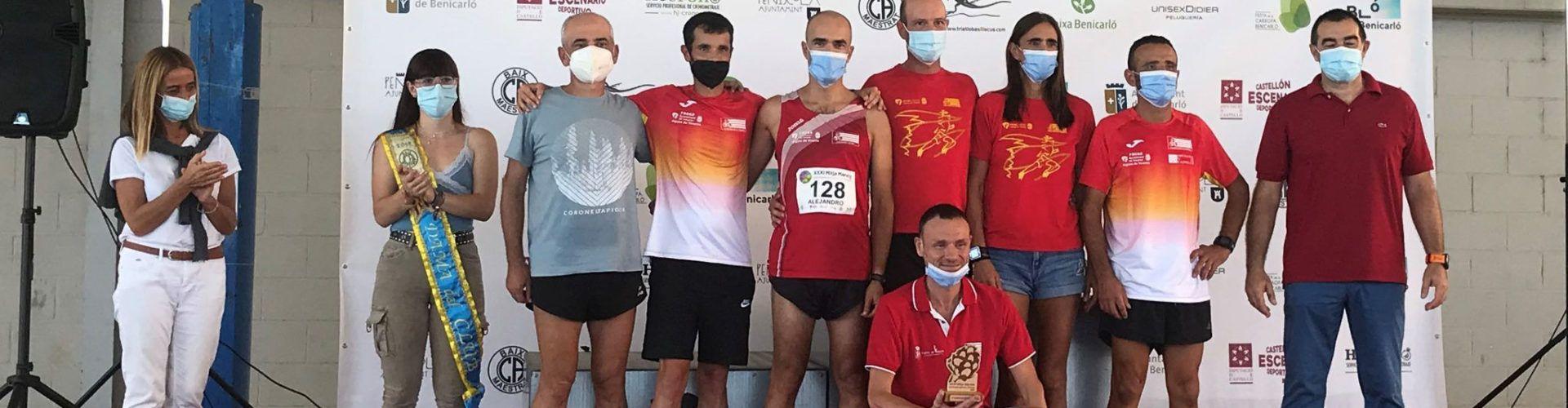 Àmplia participació vinarossenca en la XXXI Mitja Marató de la Carxofa a Benicarló