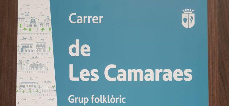 L'Ajuntament de Vinaròs renova les plaques dels noms dels carrers