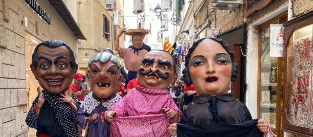 Segona jornada a l'Alguer dels nanos i gegants de Vinaròs