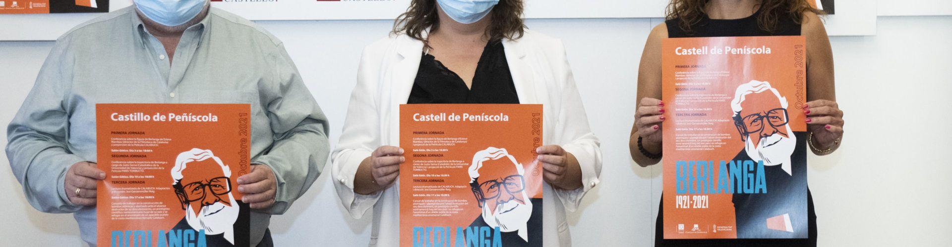 La Diputació trasllada al castell de Peníscola les activitats de l''Any Berlanga' a la província