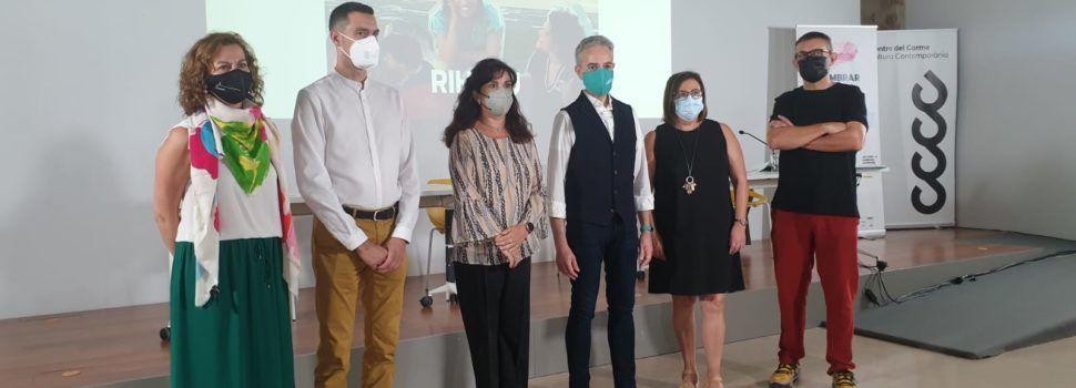 L'alcaldessa de Vilafranca, en l'acte d'inauguració del projecte cultural 'AVAN'