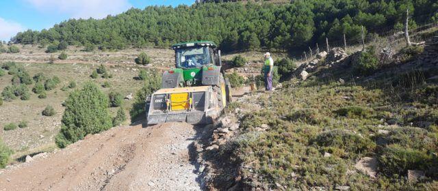S'inicien les millores i reparacions de camins rurals de Morella afectats pel temporal Filomena