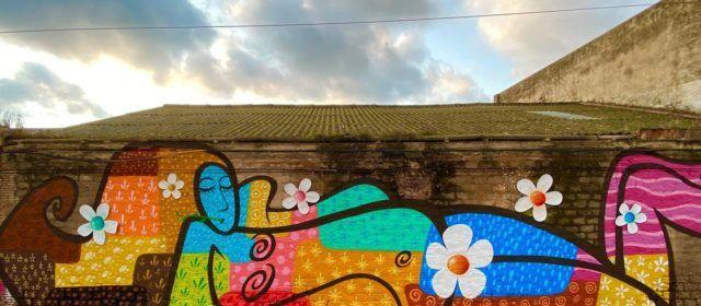 """""""Chile"""" dedica su último mural a la mujer """"libre, fuerte e independiente"""""""