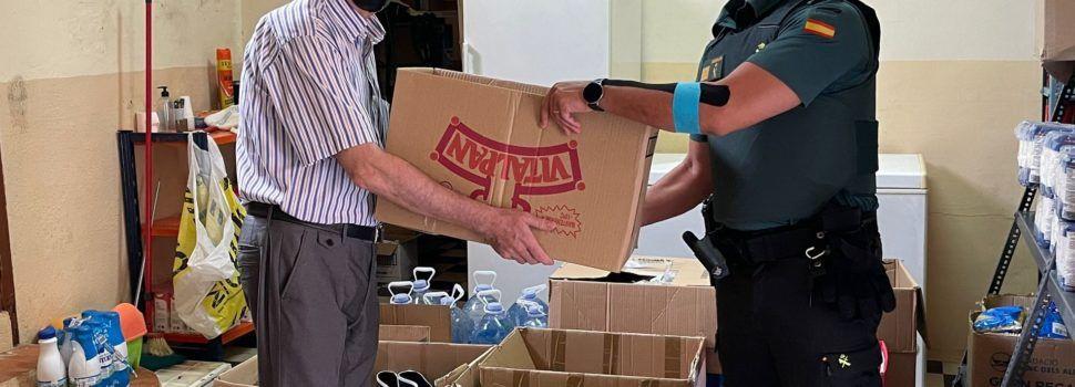 La Guardia Civil localiza una embarcación rápida varada en el Delta de l'Ebre