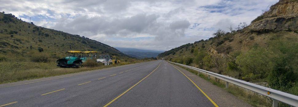Continuen els treballs de pavimentació de 12 km de N-232 entre Morella i el límit d'Aragó