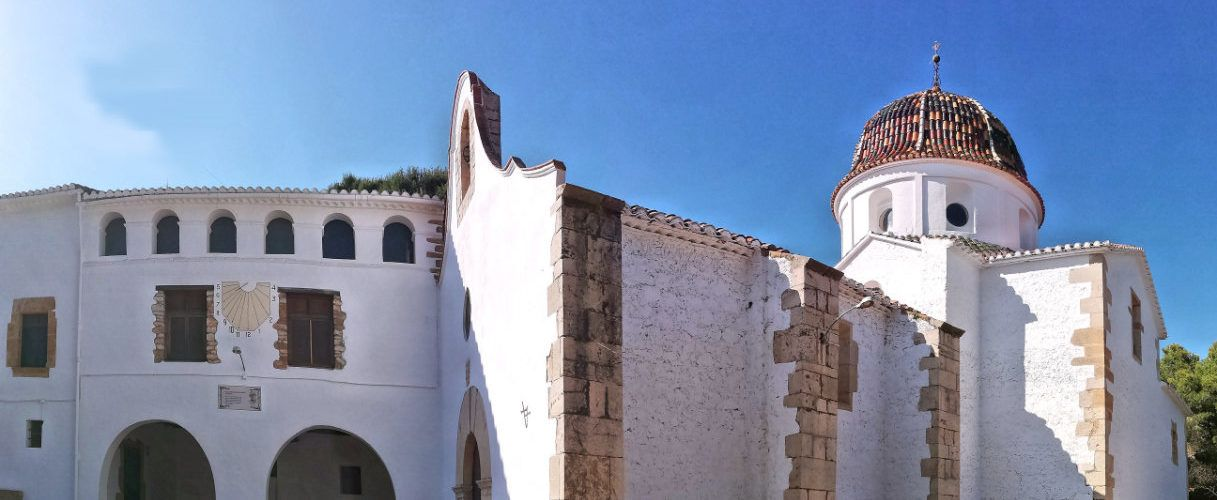 Ben Vist: Ermita del Remei d'Alcanar