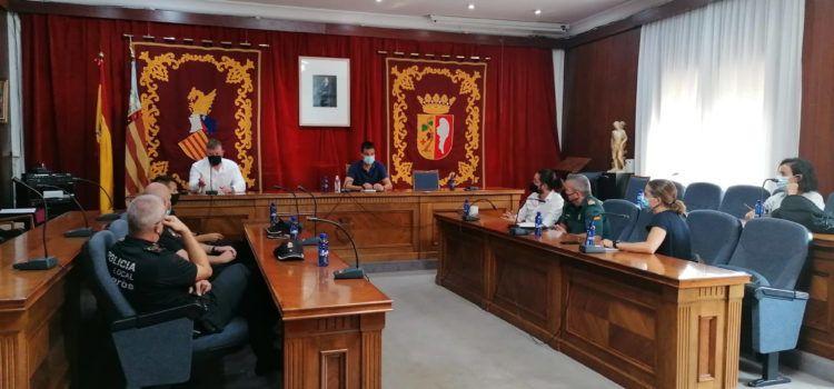 L'Ajuntament de Vinaròs es coordina amb les forces de seguretat per intensificar la vigilància al camp
