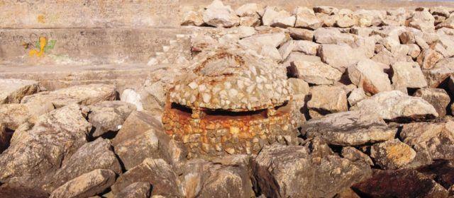 Jaciments arqueològics de Vinaròs afegits a l'inventari de la Conselleria de Cultura (VI): Búnker del moll de Llevant