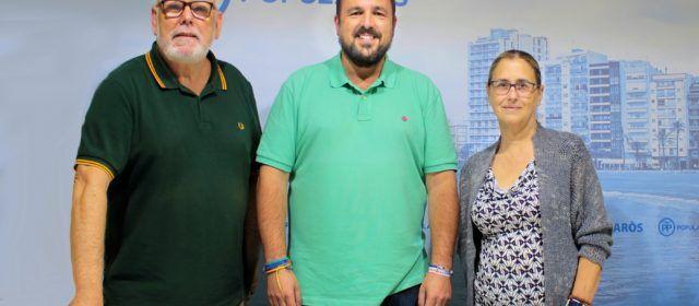 Lluís Gandía, proclamat candidat únic a la presidència local del PP Vinaròs