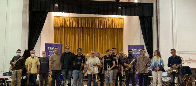 Masterclass de Big Band per ESMUVI Escola de Música de Vinaròs amb el trompetista David Pastor