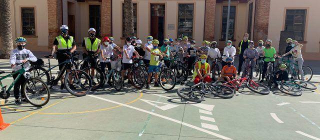 Aula ciclista al CEIP Misericòrdia de Vinaròs