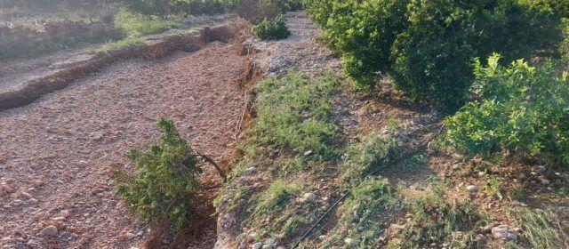 LA UNIÓ de Llauradors demana que s'agilitzen les ajudes als Ajuntaments afectats del Maestrat per a reparar els camins rurals