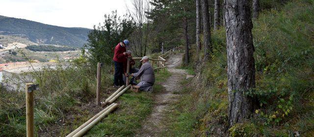 Millora de senders i camins als voltants de Morella