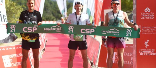 Aleksei Tolstenko se proclama vencedor en la CSP de Penyagolosa Trails 2021