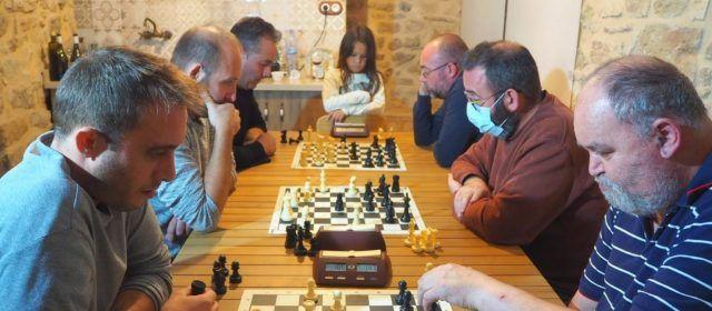 Enoc Altabás lidera el grup B  de l'Individual d'escacs de Tarragona
