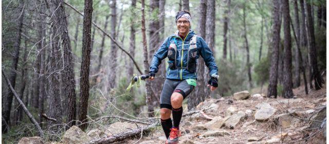 L'ultrafondiste benicarlando del Club Esportiu Vinaròs Raül Vidal, en el Penyagolosa Trails–CSP
