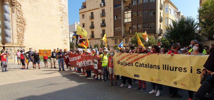 Vídeo i fotos: Marxa independentista Vinaròs-La Ràpita