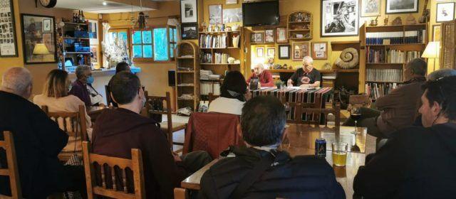 """Vallibona presenta """"Versos a muntanya"""" amb els poetes Josep Mir i Josep Segura"""