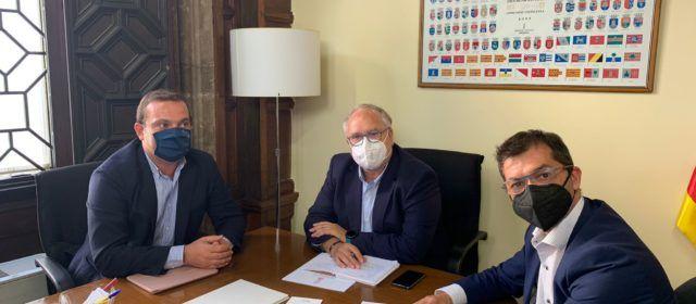 El Ayuntamiento de Peñíscola solicita colaboración a Generalitat para la puesta en marcha del Centro de Estudios como edificio administrativo