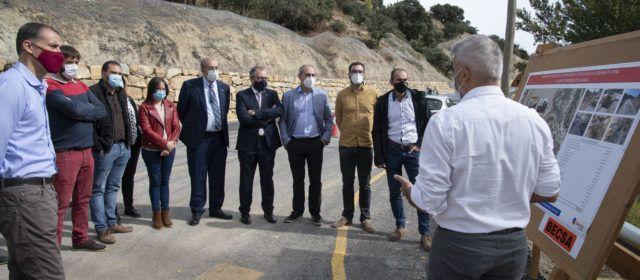 La Diputació inverteix prop de cinc milions d'euros a l'any en la millora i conservació de la xarxa viària provincial