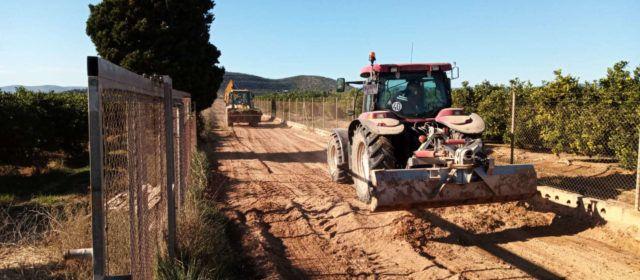 L'Ajuntament de Vinaròs inverteix prop de 275.000 euros en la reparació de camins i infraestructures rurals
