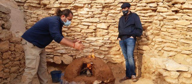 Comencen les obres de rehabilitació de la caseta del poblat iber del Puig de la Nau