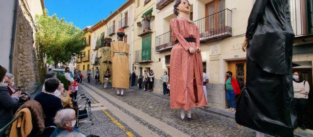 Els Gegants de Morella tornen a eixir al carrer