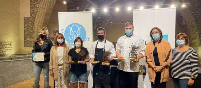 Mar Blava guanya el primer Concurs del Pinxo de Polp a Caduf i Peix de Llotja