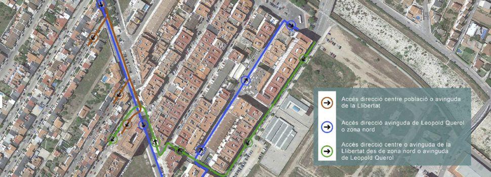 Aquesta setmana s'iniciaran les obres de millora dels pluvials a l'avinguda de Barcelona