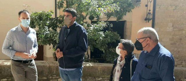Reunió a Morella amb el Diputat de Cooperació amb els municipis