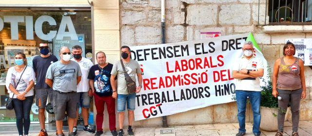 Els treballadors de la Zona Blava demanen que l'Ajuntament de Vinaròs mantinga els seus llocs de treballs